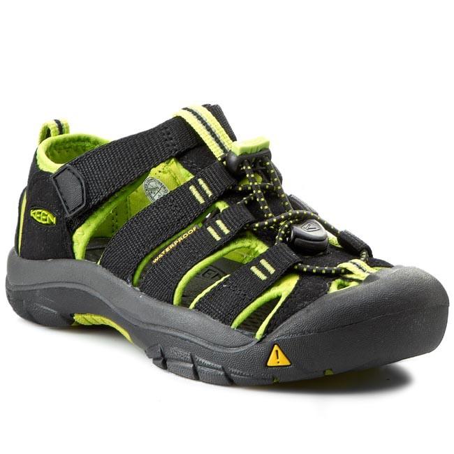 dc17ef9a895 Sandále KEEN - Newport H2 1009965 Black Lime Green - Sandály ...