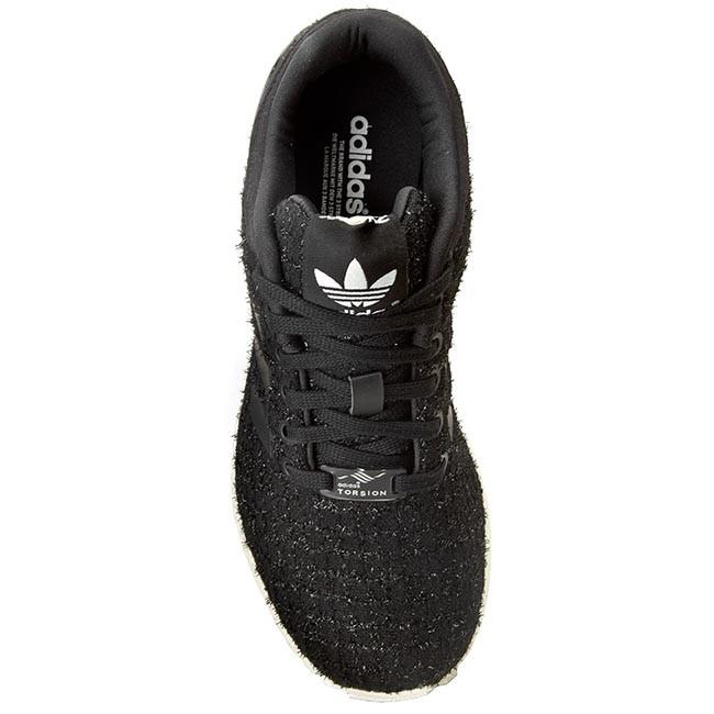 Topánky adidas - Zx Flux W S77309 Cblack Ftwwht - Každodenné - Poltopánky -  Dámske - www.eobuv.sk b180f50374b