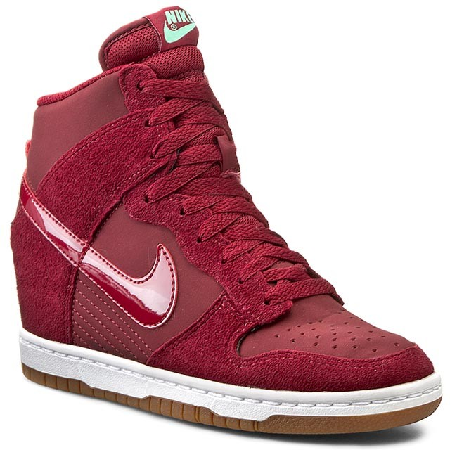 new arrival eccfe 1dac5 Topánky NIKE - Wmns Dunk Sky Hi Essential 644877 603 Team Red Tm Red