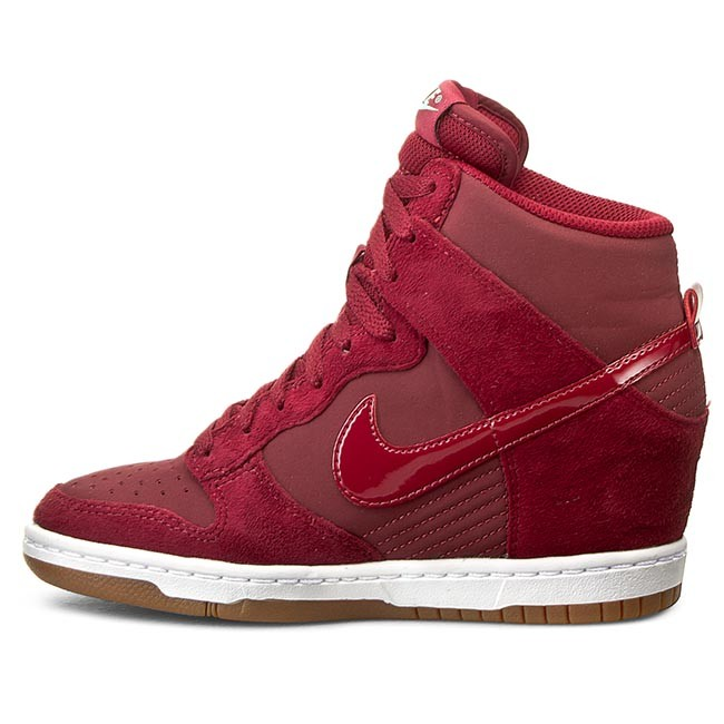 best website 72dfd c4a00 Topánky NIKE - Wmns Dunk Sky Hi Essential 644877 603 Team Red Tm Red Sl Gm  Md Brown - Sneakersy - Poltopánky - Dámske - www.eobuv.sk