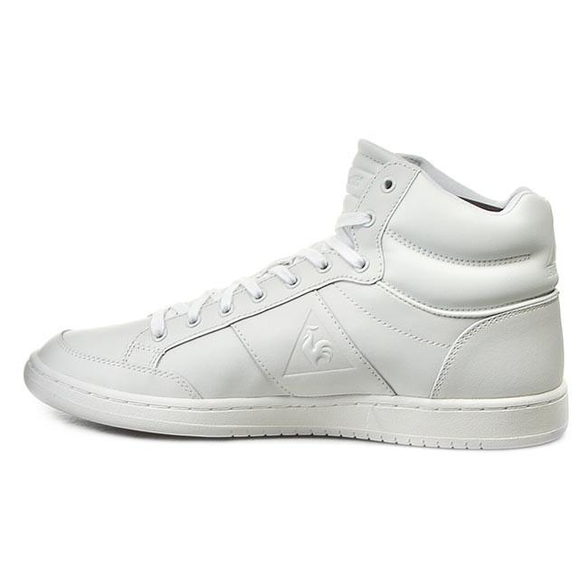 Sneakersy LE COQ SPORTIF - Prestige Court Mid Lea 1520897 Optical White -  Každodenné - Poltopánky - Pánske - www.eobuv.sk b0a7f99bb359