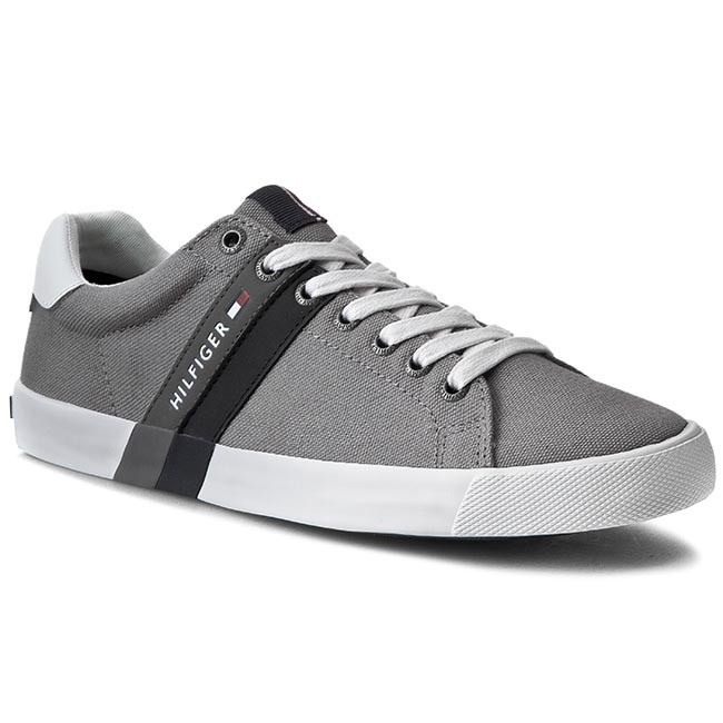 Tenisky TOMMY HILFIGER - Sm Volley 5C FM56820976 Light Grey 051 ... 8a619a22010