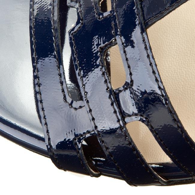 5d0bff441c60 Sandále SAGAN - 2535 Granatowy Lakier - Sandále na každodenné ...