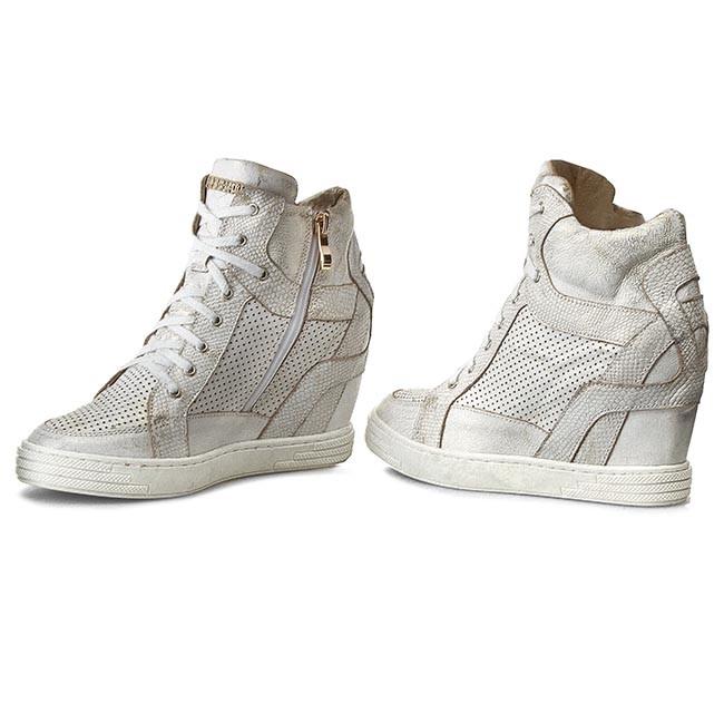 a2f889a3323b Sneakersy ROBERTO - 474 D B.Złoty - Na kline - Poltopánky - Dámske ...