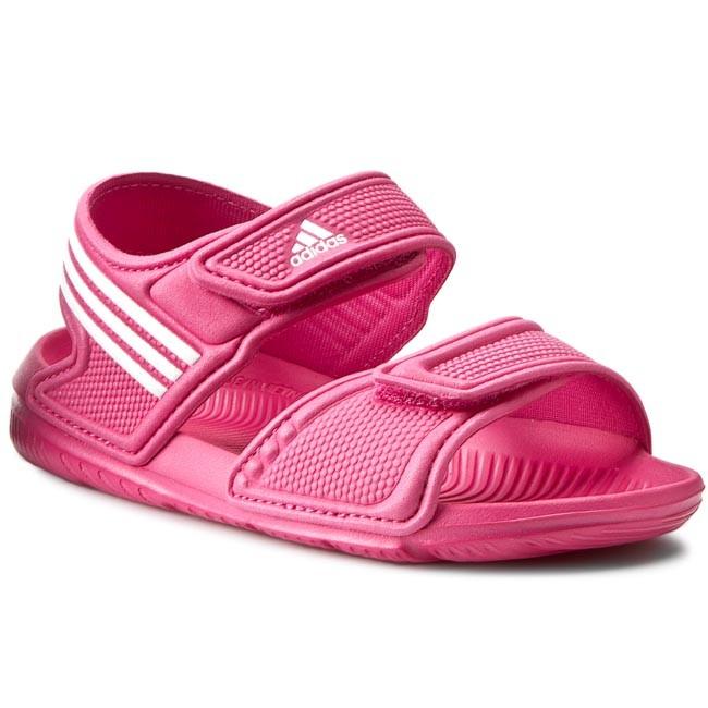 15852327fbf8 Sandále adidas - Akwah 9 K AF3871 Eqtpin Ftwwht Ftwwht - Sandále ...