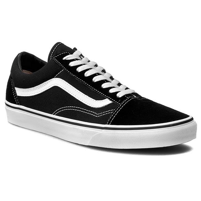 3f7354e276 Tenisky VANS - Old Skool VN000D3HY28 Black White - Plátenky a ...