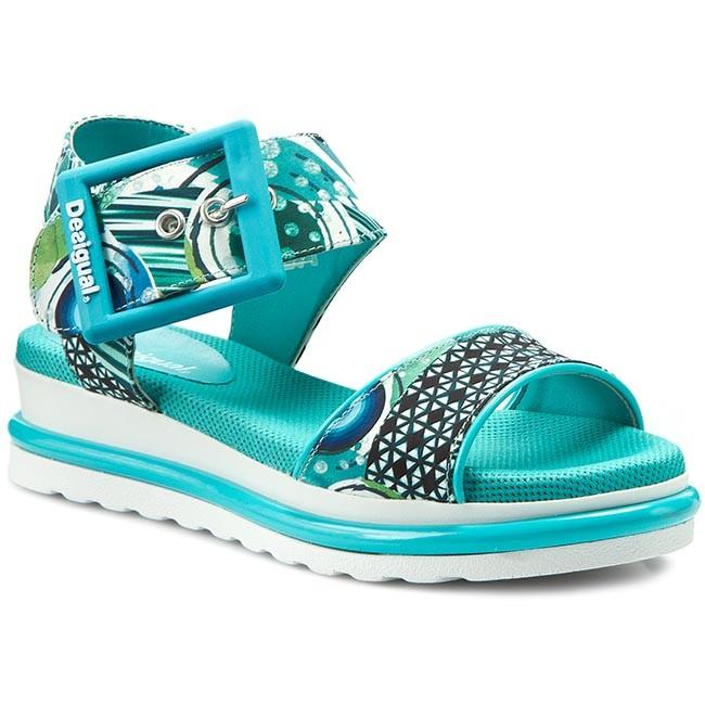 6e8895a950 Sandále DESIGUAL - Tahiti 3 61SS2M3 5013 Modrá - Sandále na ...