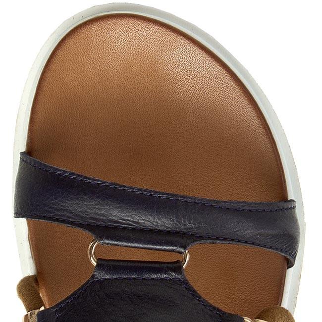 Sandále INUOVO - 6130 Navy - Sandále na každodenné nosenie - Sandále -  Šľapky a sandále - Dámske - www.eobuv.sk 4d6469e237c