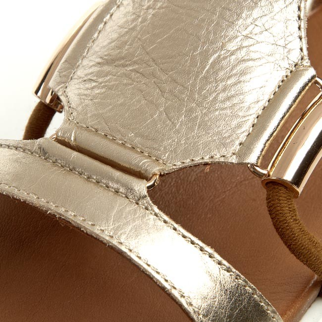 Sandále INUOVO - 6130 Gold - Sandále na každodenné nosenie - Sandále ... 326735ec89b