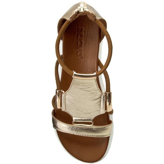 Sandále INUOVO - 6130 Gold - Sandále na každodenné nosenie - Sandále -  Šľapky a sandále - Dámske - www.eobuv.sk e59b5fc7a21