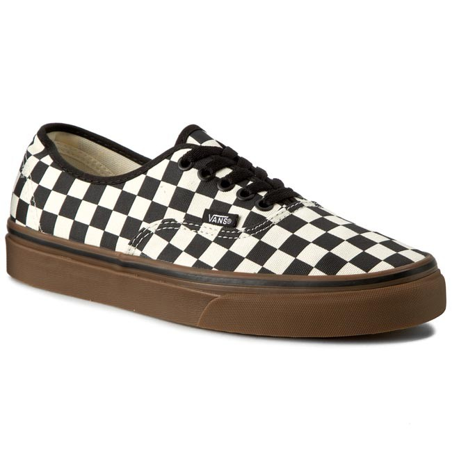 Tenisky VANS - Authentic VN0004MKIBB (Checkerboard) Black White Gum ... 15db5a8d61a