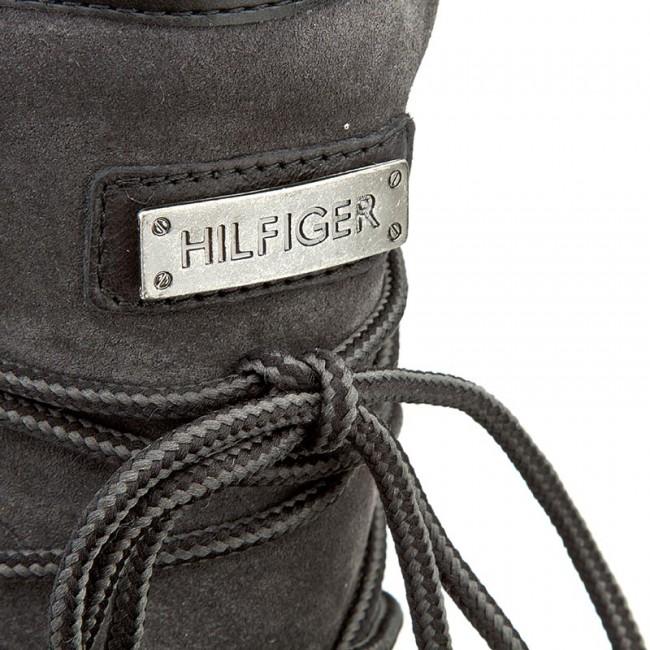 a145463ce1 Topánky TOMMY HILFIGER - Wooli 6Cw FW56822035 Magnet 916 - Kotníková ...