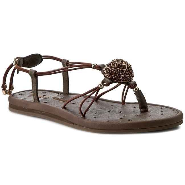 Žabky LA MARINE - String Tong Ankys Cosmo Brown - Sandále na ... eb56ff8b6a8