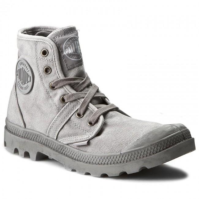 Outdoorová obuv PALLADIUM - Pallabrouse 02477066M Titanium High Rise ... 1f8926df791