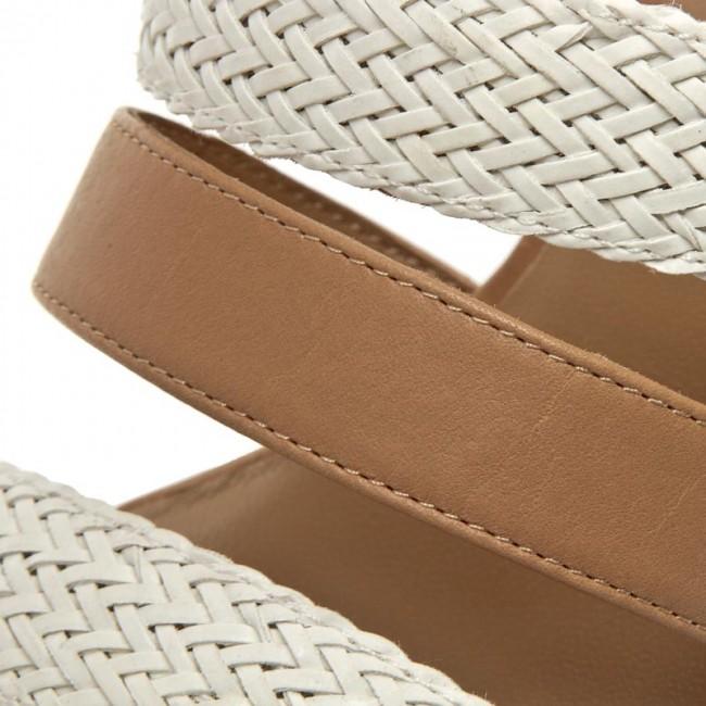 f1d5d31d43f4 Sandále ARMANI JEANS - C5519 15 1C White - Sandále na každodenné ...