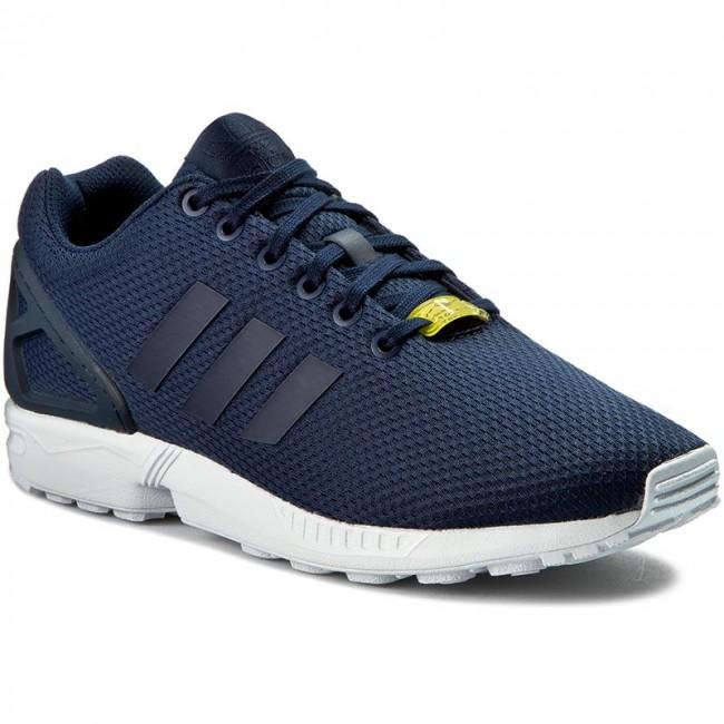 Topánky adidas - Zx Flux M19841 Darkblue Darkblue Co - Sneakersy ... 4e4576a04d8