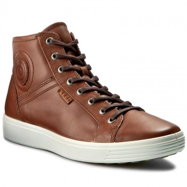 Outdoorová obuv ECCO - Soft 7 Men s 4300240219 Mahogany - Topánky ... 2d2c2377321