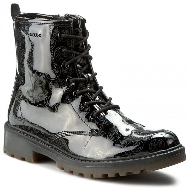 200f091cd77d Outdoorová obuv GEOX - J Casey G. K J5420K 000FC C9999 D Čierna ...