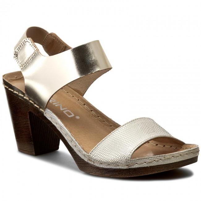 5659366005974 Sandále KARINO - 1706/074-P Zlatá - Sandále na každodenné nosenie ...