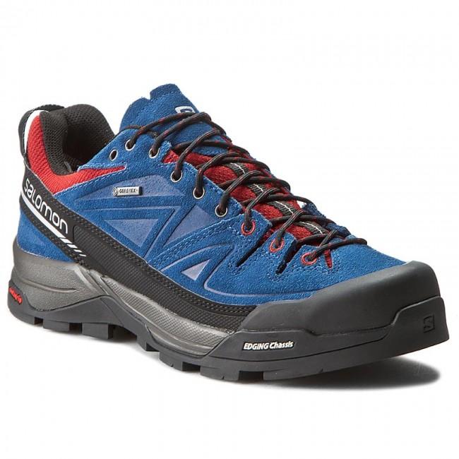Trekingová obuv SALOMON - X Alp Ltr Gtx 379267 26 V0 Midnight Blue Flea  564b660db38