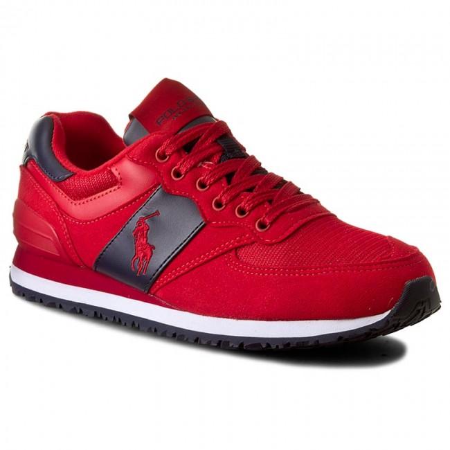 Sneakersy POLO RALPH LAUREN - Salton Pony A85 Y2136 ROKDW W64BN Red ... 2f02ec9cb70