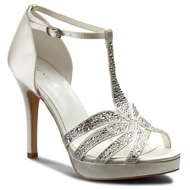 31c78a375644 Sandále MENBUR - 07256 Ivory 0004 - Elegantné sandále - Sandále ...