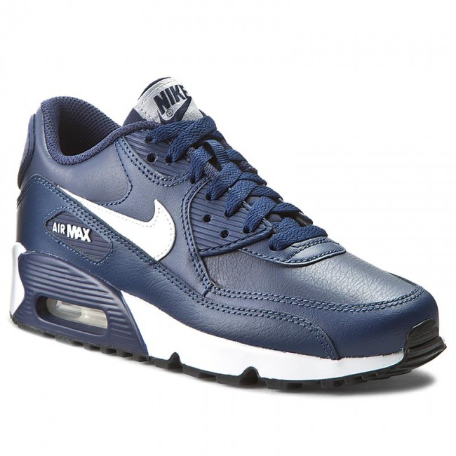 Topánky NIKE - Air Max 90 Ltr (Gs) 833412 400 Midnight Navy White ... 319401a4a31