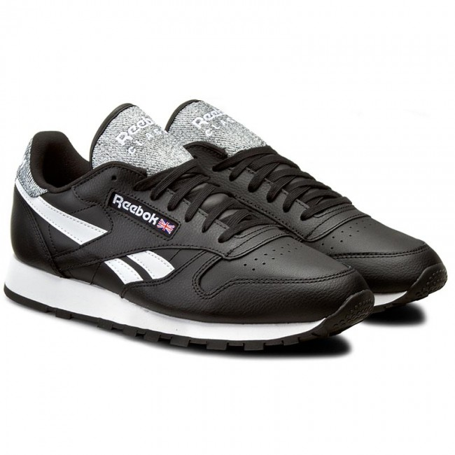Topánky Reebok - Classic Leather Pop AR0300 Black White - Sneakersy -  Poltopánky - Pánske - www.eobuv.sk d542a26b6be
