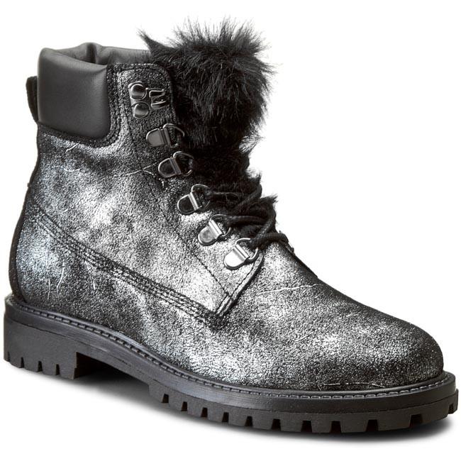 e62c0f8f97 Outdoorová obuv GUESS - Tamara FLTAM4 LEM09 SILVER - Outdoorové ...