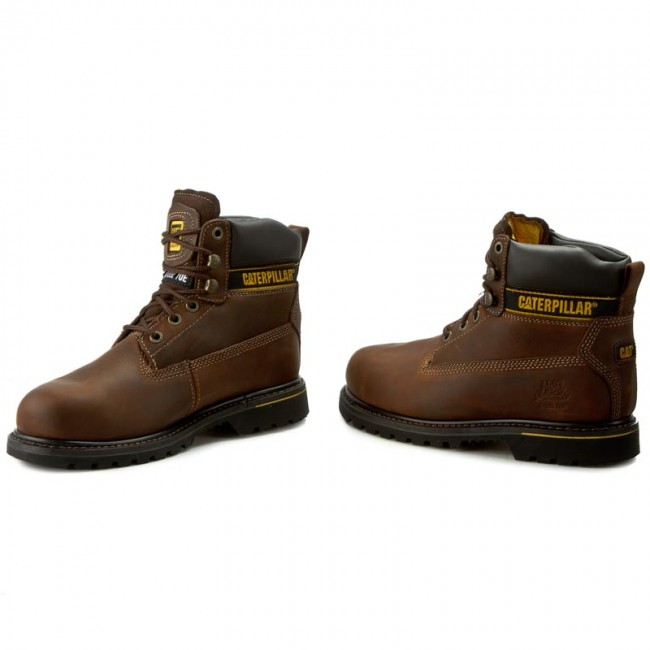 8ed18d1b4d5 Outdoorová obuv CATERPILLAR - Holton P708025 Dark Brown - Outdoorové ...