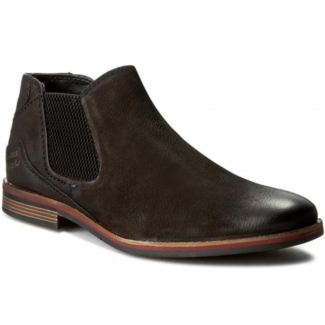 e1fee1559cc Kotníková obuv s elastickým prvkom BUGATTI - 312-173203500-1000 Black
