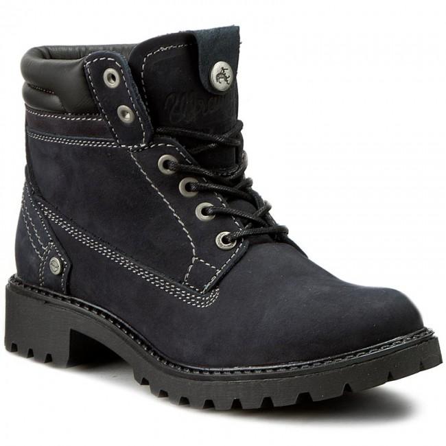 Outdoorová obuv WRANGLER - Creek WL162500 Navy 16 - Outdoorové ... ec4f06e1434
