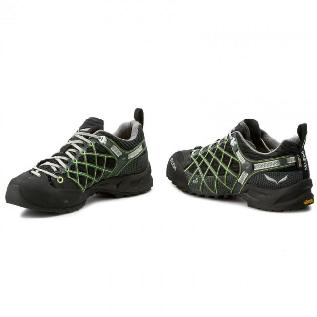 Trekingová obuv SALEWA - Ws Wildfire S Gtx 63435-0906 Black Emerald ... d4c55152da6