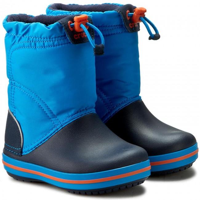 Snehule CROCS - Crocband Lodgepoint Boot K 203509 Ocean Navy - Outdoorová  obuv - Čižmy a iné - Chlapec - Detské - www.eobuv.sk 2afe8a343f5