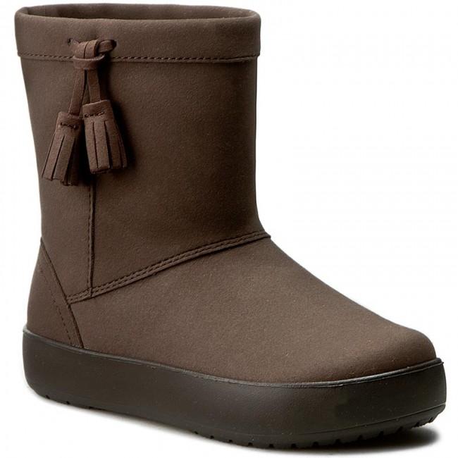 Topánky CROCS - Lodgepoint Boot K 203751 Espresso b29fc6abd0
