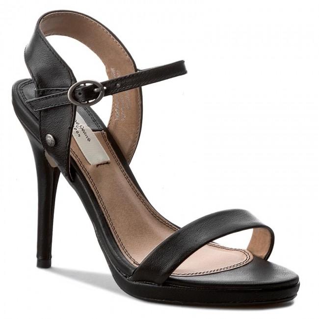 9d8faeb6ed8 Sandále PEPE JEANS - Lake Basic PLS90275 Black 999 - Elegantné ...