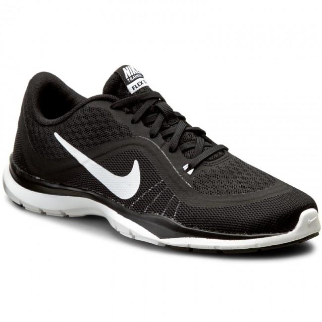 cf6ff55296e3 Topánky NIKE - Flex Trainer 6 831217 001 Black White - Fitness ...