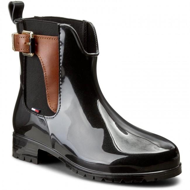 Gumáky TOMMY HILFIGER - Oxley 2Z2 FW56822108 Black Winter Cognac 990 ... 881ebe3ce83