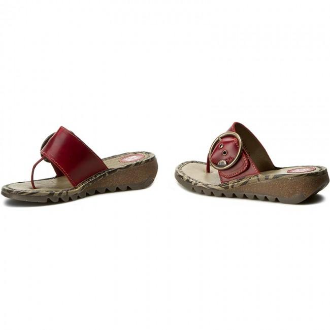 a2559447658 Žabky FLY LONDON - Trim P500453023 Red - Žabky - Šľapky a sandále ...