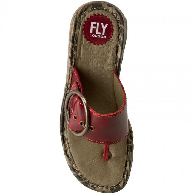 b4fcc44613f Žabky FLY LONDON - Trim P500453023 Red - Žabky - Šľapky a sandále - Dámske  - www.eobuv.sk