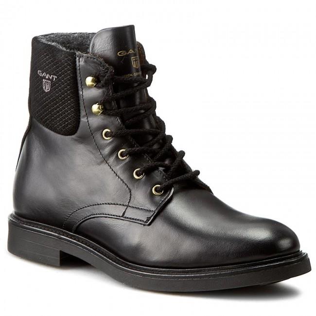 68441d9fd3 Členková obuv GANT - Ashley 13541370 Black G00 - Kotníková obuv ...