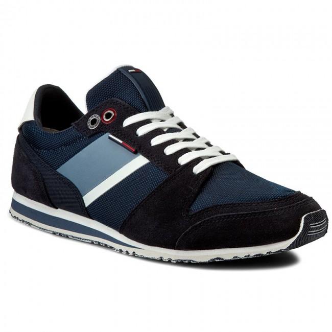 e67ab9a1434064 Sneakersy TOMMY HILFIGER - DENIM Sprint 2C1 FM0FM00327 Ink 006 ...