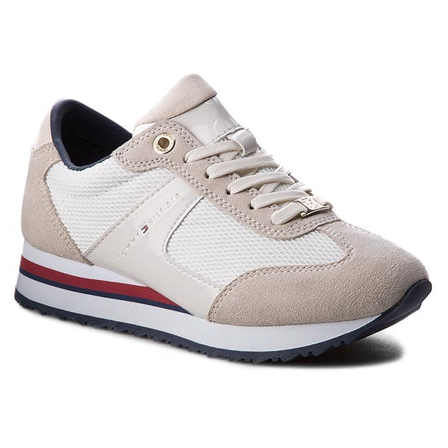 65a562e8604 Sneakersy TOMMY HILFIGER - Angel 1C1 FW0FW00627 Whisper White 016 ...