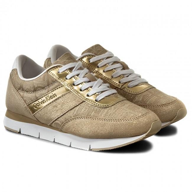 Sneakersy CALVIN KLEIN JEANS - Tea 9644 Gold Gold - Sneakersy - Poltopánky  - Dámske - www.eobuv.sk b3637a5d1c2