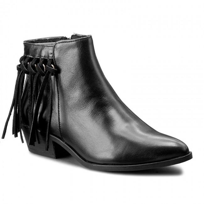 Členková obuv GUESS - Jammy FLJMM1 LEA09 BLACK - Kotníková obuv ... c9cfe3e2268