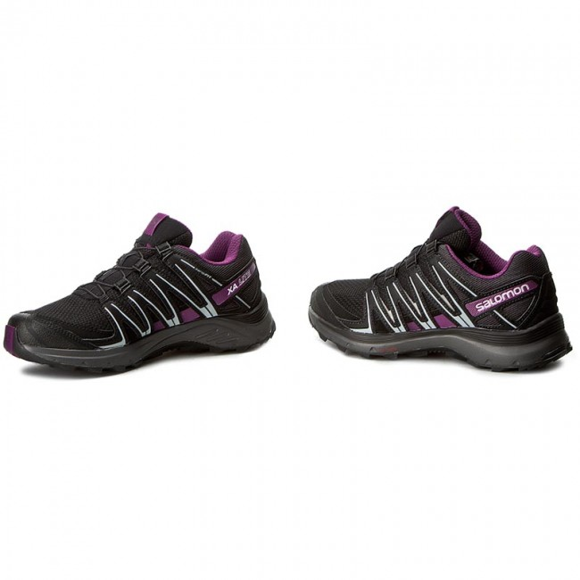 Topánky SALOMON - Xa Lite W 394655 20 V0 Black Magnet Grape Juice ... 675795d0033