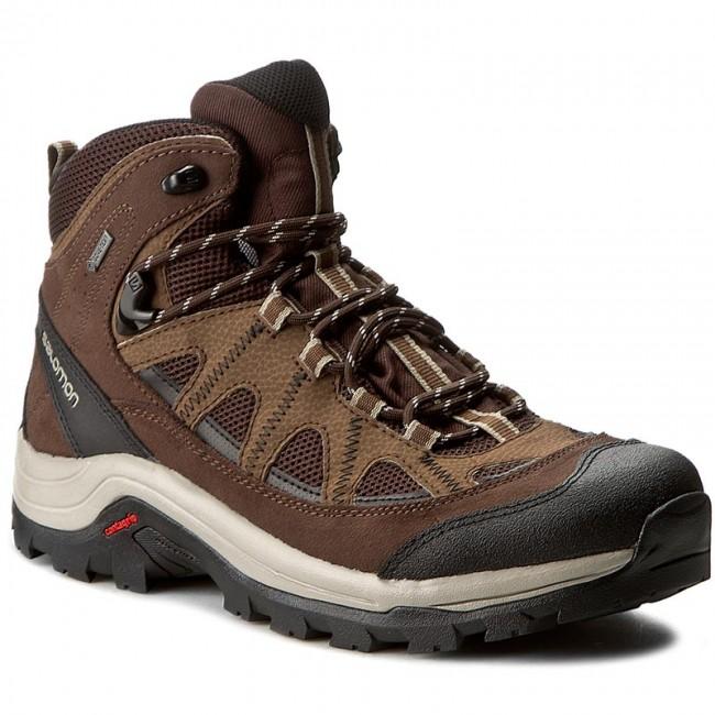 Trekingová obuv SALOMON - Authentic Ltr Gtx GORE-TEX 394668 27 V0 Black  Coffee  1cf0fa2edf2
