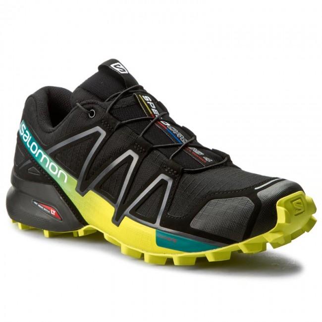 Topánky SALOMON - Speedcross 4 392398 28 V0 Black Everglade Sulphur Spring 965e5dc59a3