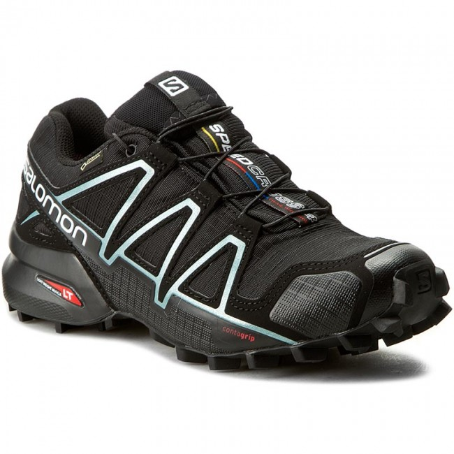 Topánky SALOMON - Speedcross 4 Gtx W GORE-TEX 383187 20 G0 Black Black a39944e25ef