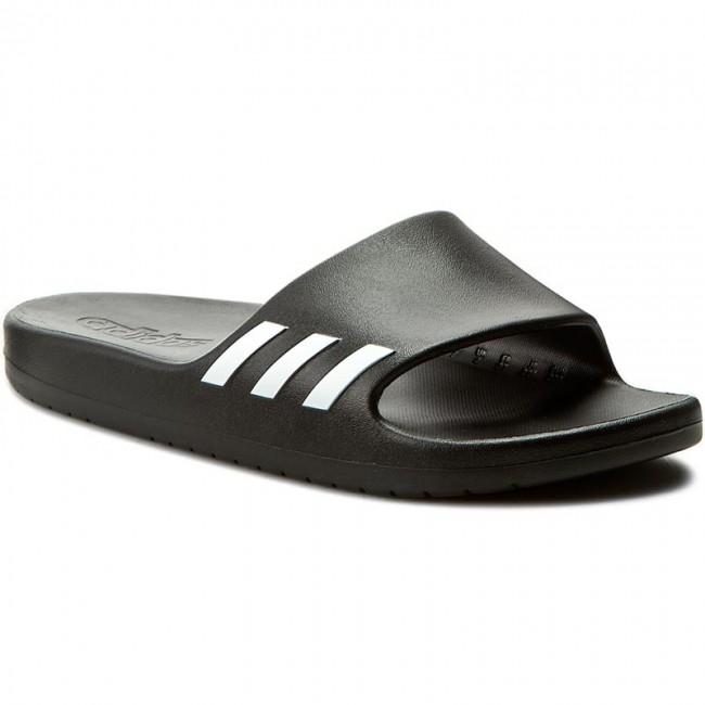 Šľapky adidas - Aqualette W BA8762 Cblack Ftwwht Cblack - Šľapky ... 063a4e286ee